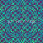 Abstract Round Lines Pattern Design
