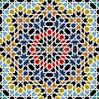 Altes Marokko Designmuster