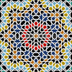 Ancient Morocco Seamless Vector Pattern Design