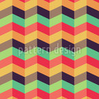 Graphical Chevron Seamless Vector Pattern