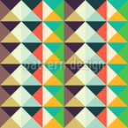 Endless Triangles Vector Pattern
