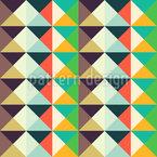 Endlose Dreiecke Nahtloses Vektormuster