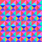 Vivid Triangles Repeat Pattern