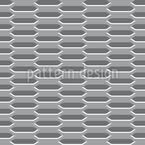Expanded Metal Seamless Vector Pattern Design