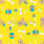 Hundespielzeug Musterdesign
