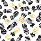 Royal Pineapple Seamless Pattern