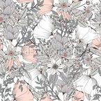 Botanische Geschenke Nahtloses Muster