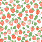 Dance Of The  Berry Seamless Vector Pattern