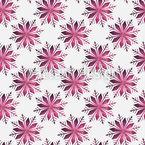 Kristall-Schneeflocken Nahtloses Vektor Muster