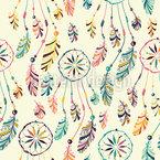 Sonhos brilhantes Design de padrão vetorial sem costura