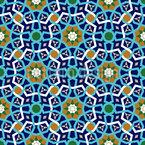 Marokkanisches Gitter Nahtloses Vektormuster