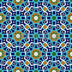 Moroccan Lattice Seamless Vector Pattern Design