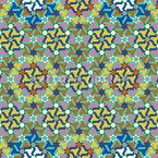 Ancient Kilim Seamless Vector Pattern