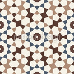Moorish Mosaic Repeat Pattern
