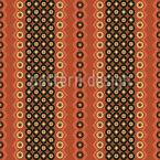 Tribal Ornamente und Streifen Nahtloses Vektor Muster