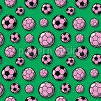 Frauen Fussball Nahtloses Muster