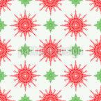 Zarte Sterne Und Schneeflocken Vektor Design