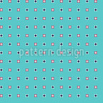 Pixelated Dots Seamless Vector Pattern