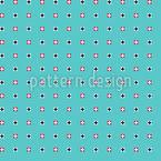 Pixelige Punkte Nahtloses Vektor Muster