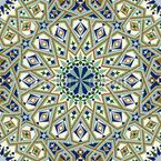 Prunkvolles traditionelles Marokko Nahtloses Vektormuster