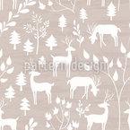 Aquarell-Winterwald Vektor Muster