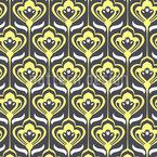 Vintage Florale Ornamente Nahtloses Muster