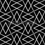 Zwischen Den Ecken Nahtloses Vektor Muster