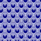 フローラルグラウンド シームレスなベクトルパターン設計
