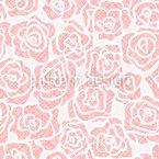 Schöne Rosen Nahtloses Vektormuster