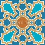 Orientalische Deckenbemalung Nahtloses Vektormuster
