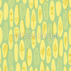 Embellished Round Shapes Seamless Vector Pattern