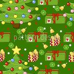 Unterm Weihnachtsbaum Musterdesign