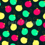 Christmas Tree Baubles Design Pattern