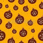 Weihnachtsbaumkugel Kekse Designmuster