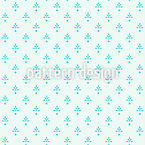 Vintage Winter Deco Seamless Vector Pattern