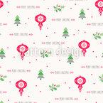 Fröhliche Weihnachten An Alle Vektor Muster