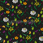To Scatter Flowers Vector Design