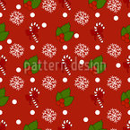 Festive Decoration Seamless Vector Pattern Design