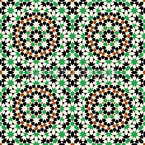 Islamisches Mosaik Nahtloses Vektormuster
