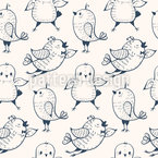 Happy Birdies Vector Ornament