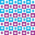 Flower Memory Seamless Pattern