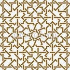 Lattice entrelaçamento Design de padrão vetorial sem costura