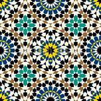 Maurische Schönheit Nahtloses Vektormuster