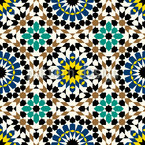 Moorish Beauty Seamless Pattern