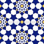 Orientalisches Stern Mosaik Vektor Muster