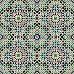 Marokkanische Schönheit Nahtloses Vektormuster