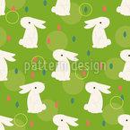 Chinesisches Kaninchen Rapportiertes Design