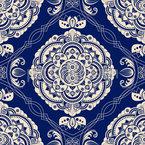 Elegante Embleme Muster Design