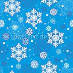 Fallende Schneeflocken Designmuster