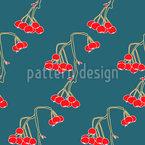 Hängende Kirschen Vektor Muster
